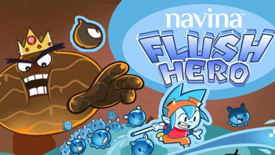 Wellspect Navina Illustration of Navina Flush Hero app